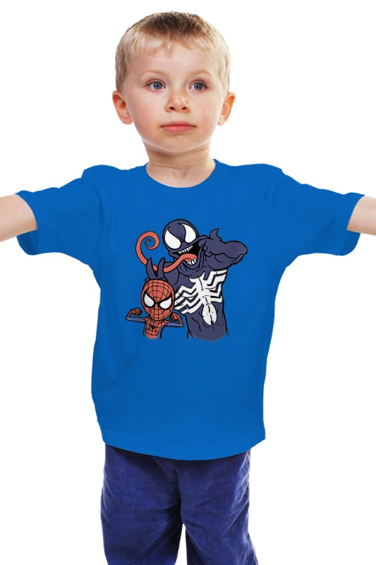 Детская футболка классическая унисекс Printio Peter and eddie eddie and dog