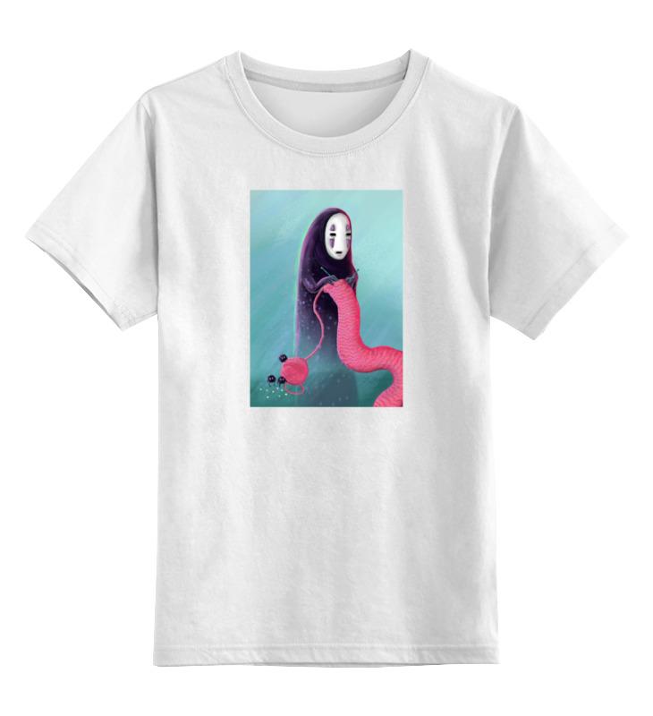 Детская футболка классическая унисекс Printio Безликий (унесённые призраками) футболка классическая printio каонаси