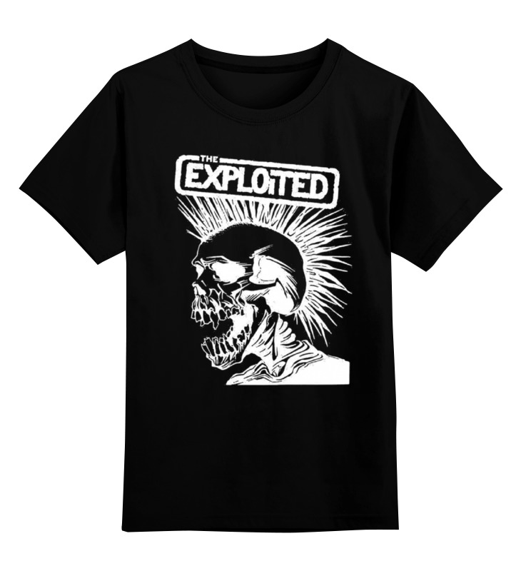 Детская футболка классическая унисекс Printio The exploited the exploited the exploited apocalypse tour 1981 limited edition lp