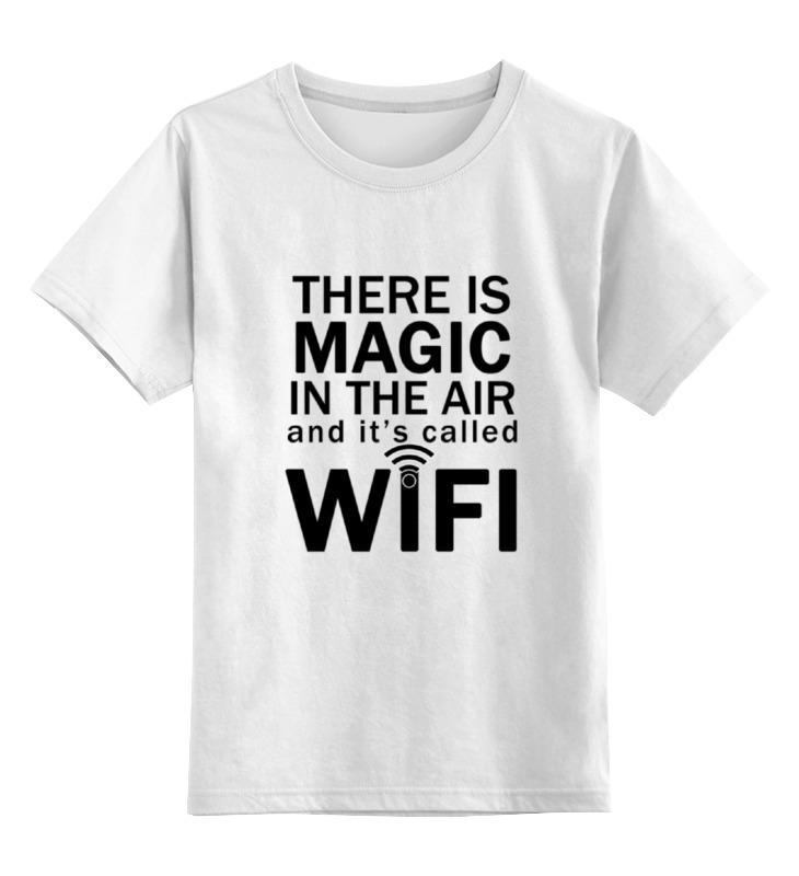 Printio Wifi magic (1) футболка классическая printio wifi magic 2