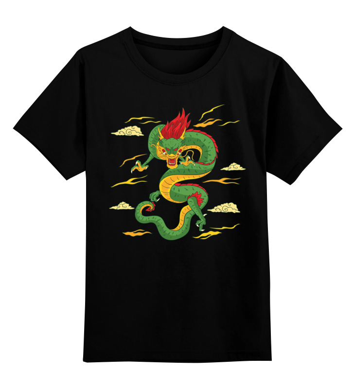Детская футболка классическая унисекс Printio Дракон детская футболка классическая унисекс printio классическая футболка dota 2