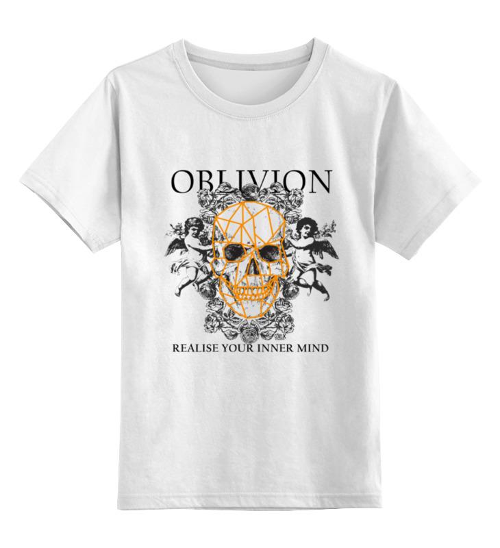 Детская футболка классическая унисекс Printio Oblivion crematory crematory oblivion