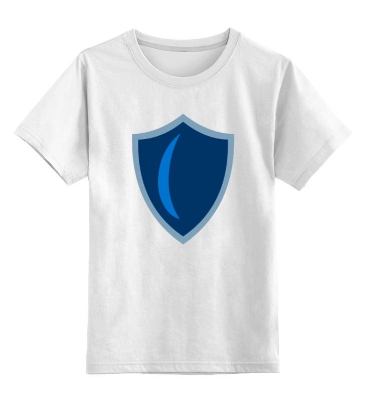 Детская футболка классическая унисекс Printio Щит (моя маленькая пони) маленькая фея детская одежда