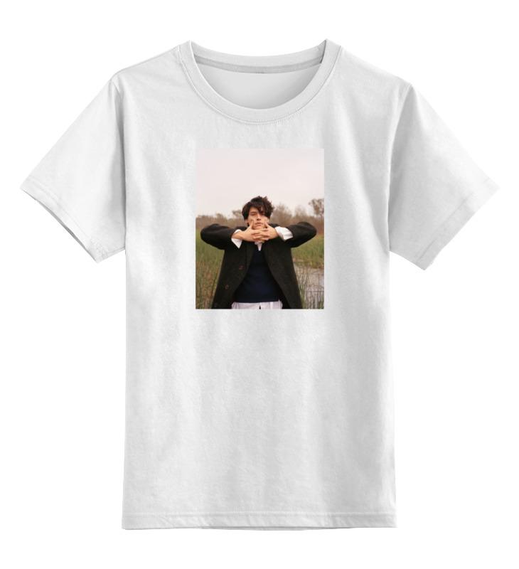 Детская футболка классическая унисекс Printio Cole sprouse толстовка wearcraft premium унисекс printio cole sprouse