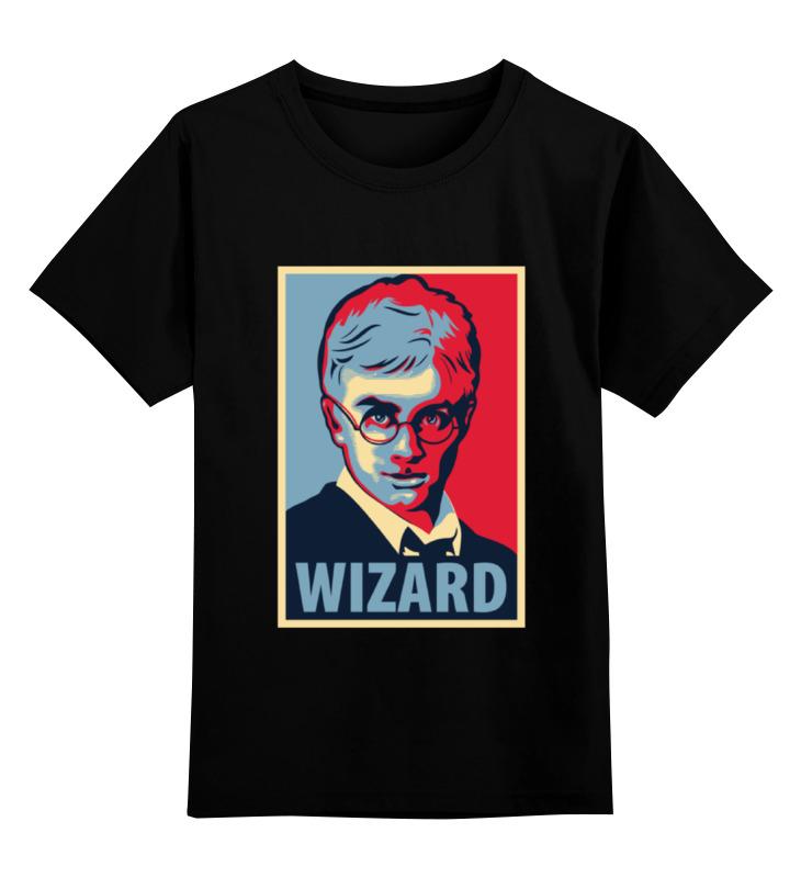 Детская футболка классическая унисекс Printio Obey wizard детская футболка классическая унисекс printio starbucks obey