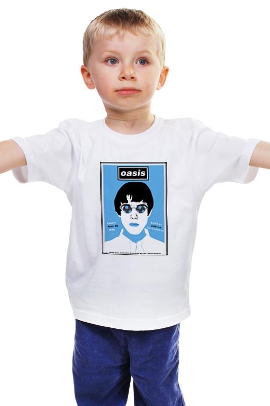 kingcamp oasis 300 Детская футболка классическая унисекс Printio Oasis