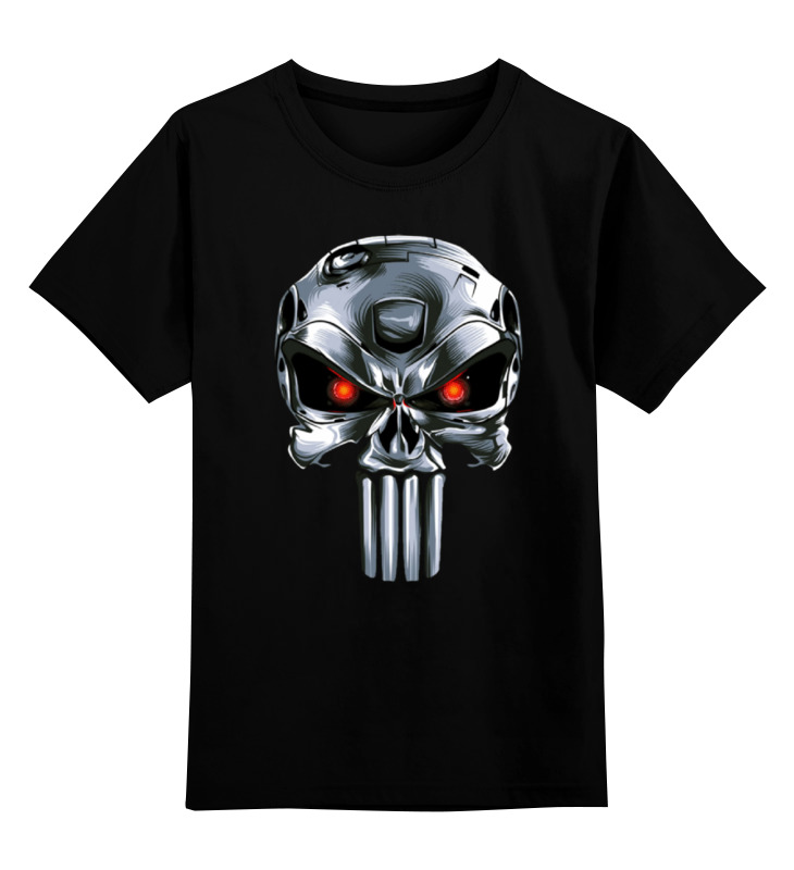 Детская футболка классическая унисекс Printio Punisher of the future футболка wearcraft premium printio punisher of the future