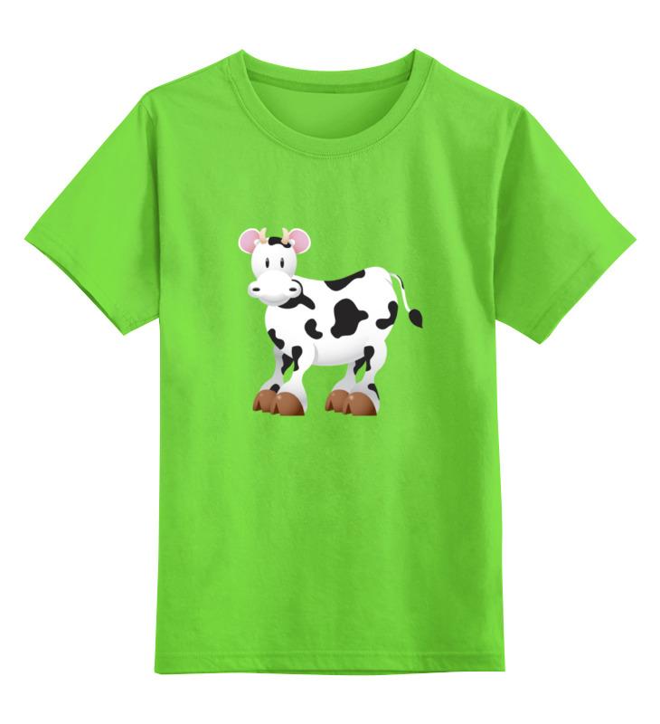 Детская футболка классическая унисекс Printio Бычок авто бычок термо бутка