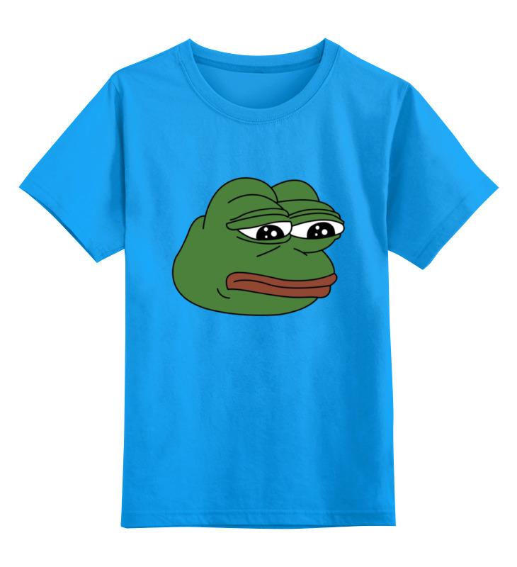 Фото - Детская футболка классическая унисекс Printio Грустная лягушка детская футболка классическая унисекс printio sad robot