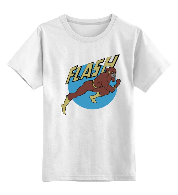 Фото - Детская футболка классическая унисекс Printio Флэш. футболка классическая printio флэш