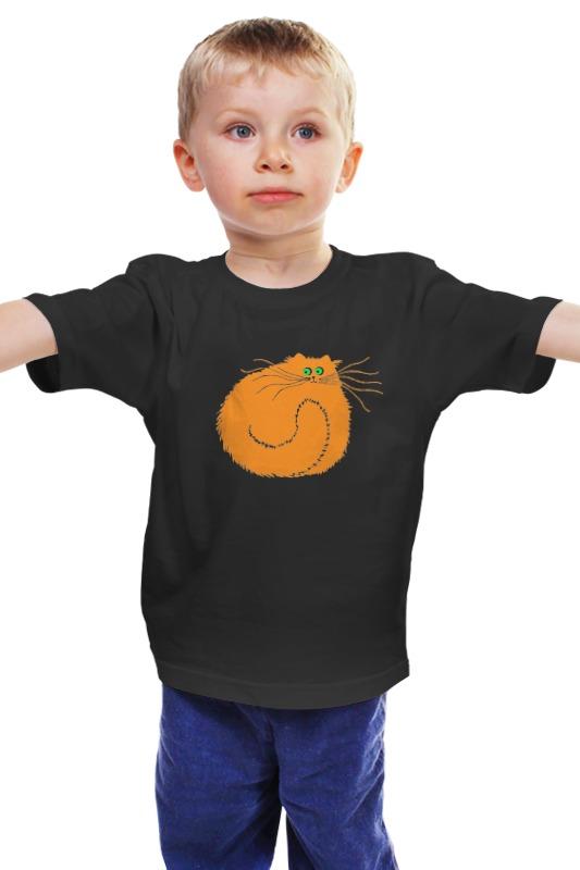Детская футболка классическая унисекс Printio Рыжий котяра значок рыжий котяра