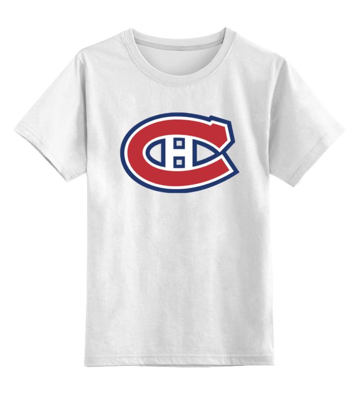 Детская футболка классическая унисекс Printio Montreal canadiens ranee lee montreal
