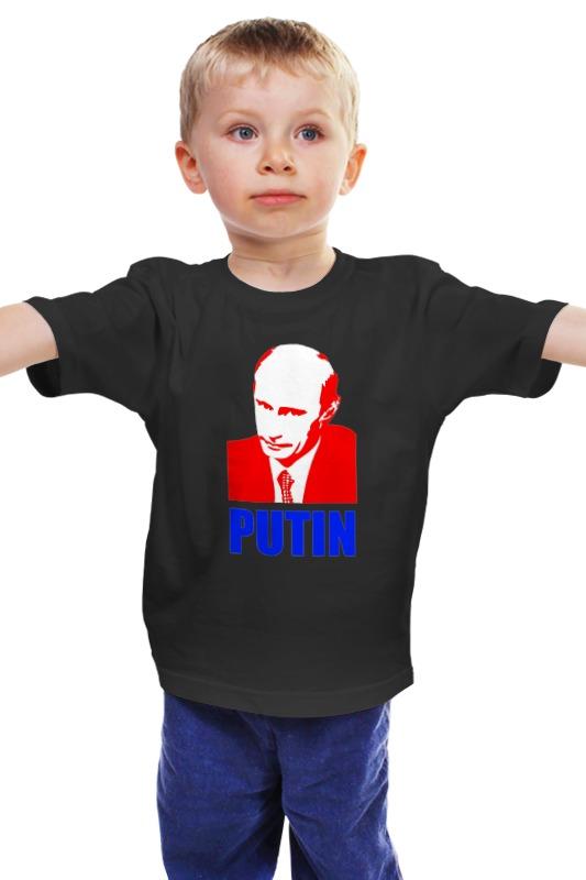Детская футболка классическая унисекс Printio Putin детская футболка классическая унисекс printio мачете