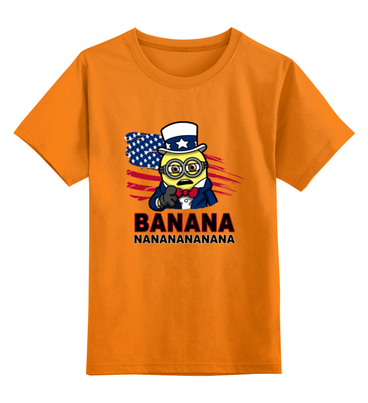 Детская футболка классическая унисекс Printio Banana nanana детская футболка классическая унисекс printio banana jaws