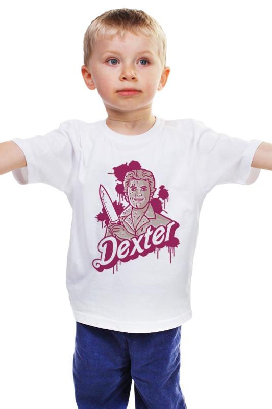 Детская футболка классическая унисекс Printio Dexter детская футболка классическая унисекс printio комиксы