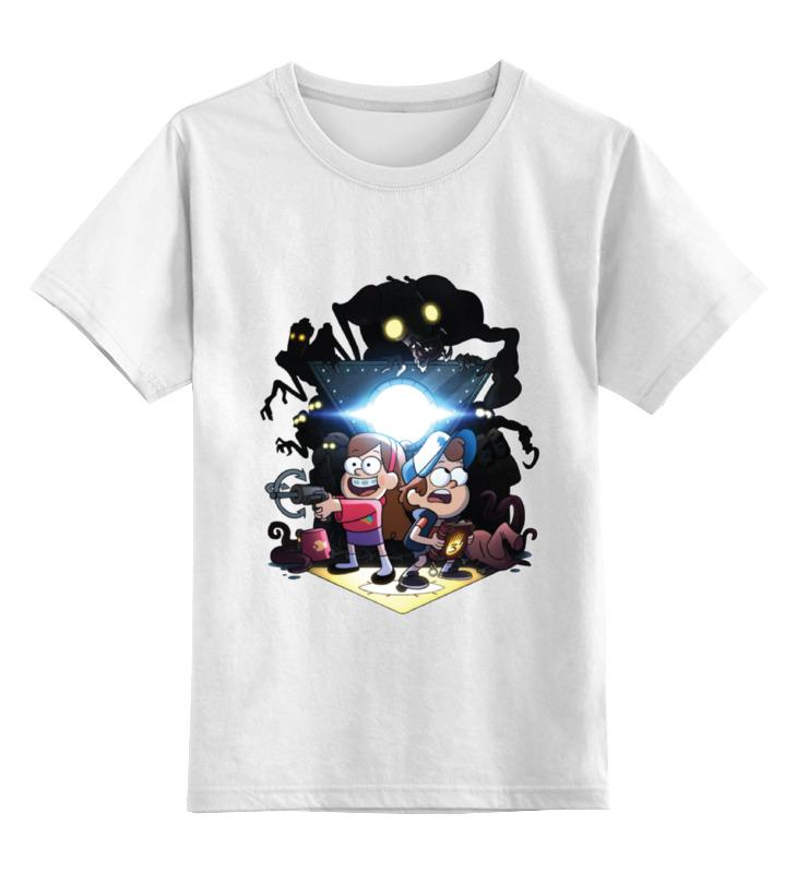 Детская футболка классическая унисекс Printio Gravity falls / гравити фолз футболка рингер printio гравити фолз gravity falls