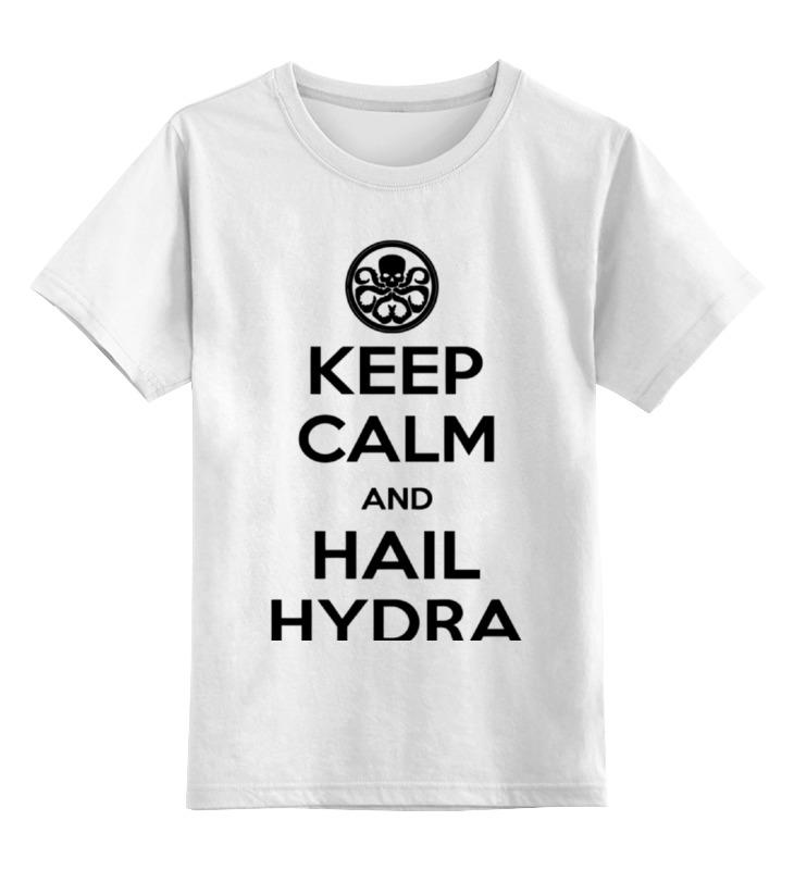 Детская футболка классическая унисекс Printio Гидра детская футболка классическая унисекс printio hydra arsb