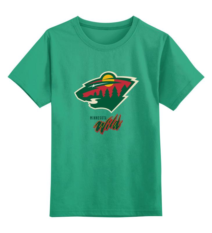 Детская футболка классическая унисекс Printio Minnesota wild / nhl usa толстовка wearcraft premium унисекс printio minnesota wild nhl usa