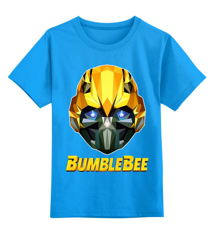 Детская футболка классическая унисекс Printio Бамблби цена и фото
