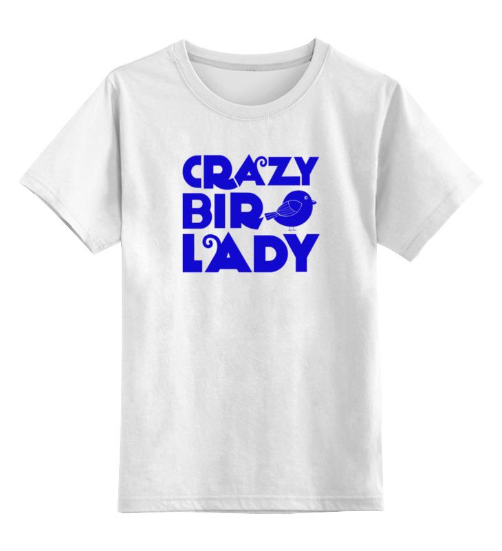Детская футболка классическая унисекс Printio Птичка sbart upf50 rashguard 2 bodyboard 1006