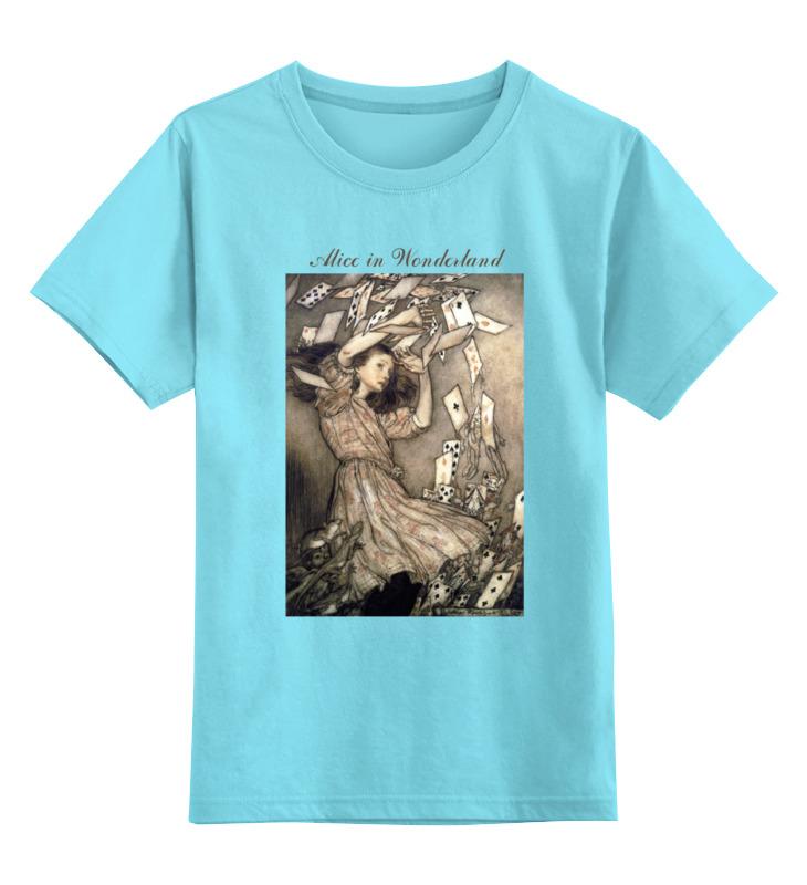 Детская футболка классическая унисекс Printio Alice in wonderland футляр для картриджей 2 стилуса для приставки ds lite красно белый