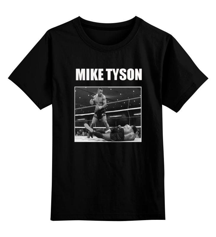 Детская футболка классическая унисекс Printio Mike tyson костюмы tyson triton костюм для рыбалки