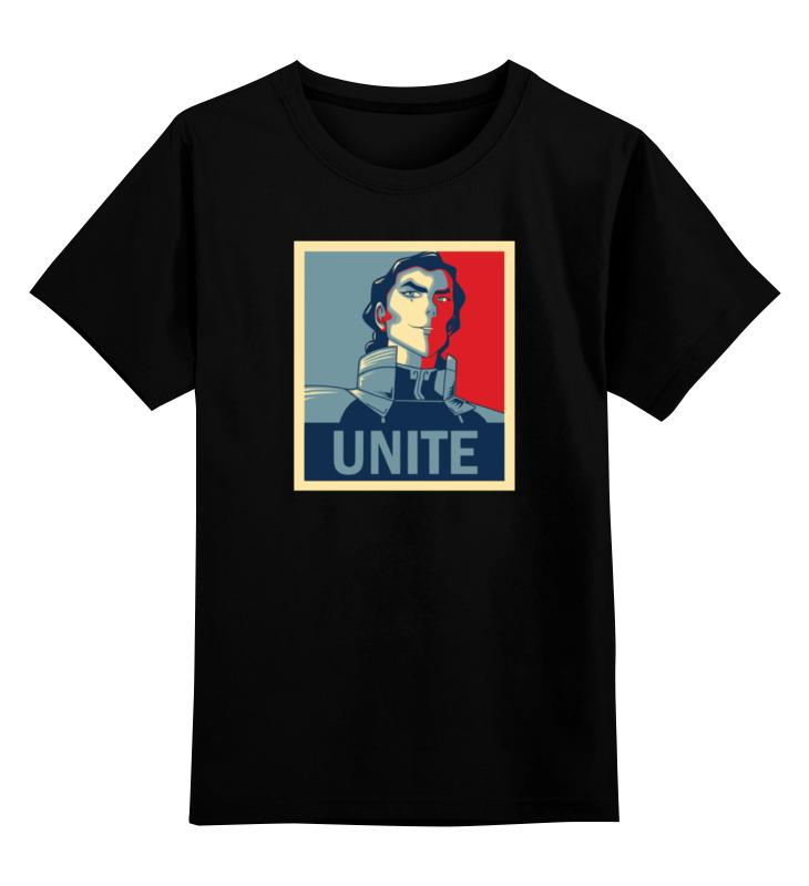 Детская футболка классическая унисекс Printio Кувира (аватар) детская футболка классическая унисекс printio аватар легенда о корре
