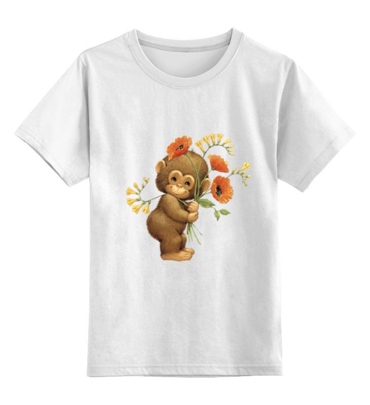 Детская футболка классическая унисекс Printio Manky mac