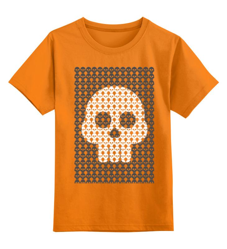 Детская футболка классическая унисекс Printio Веселый черепок мария киселева веселый третий