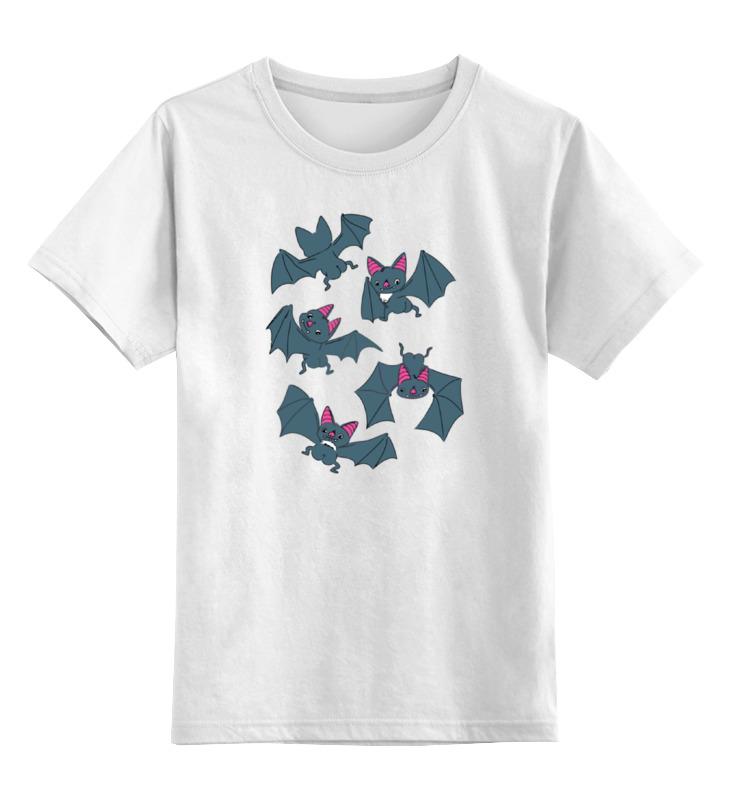 Детская футболка классическая унисекс Printio Летучие мыши майка классическая printio летучие мыши б��тмен