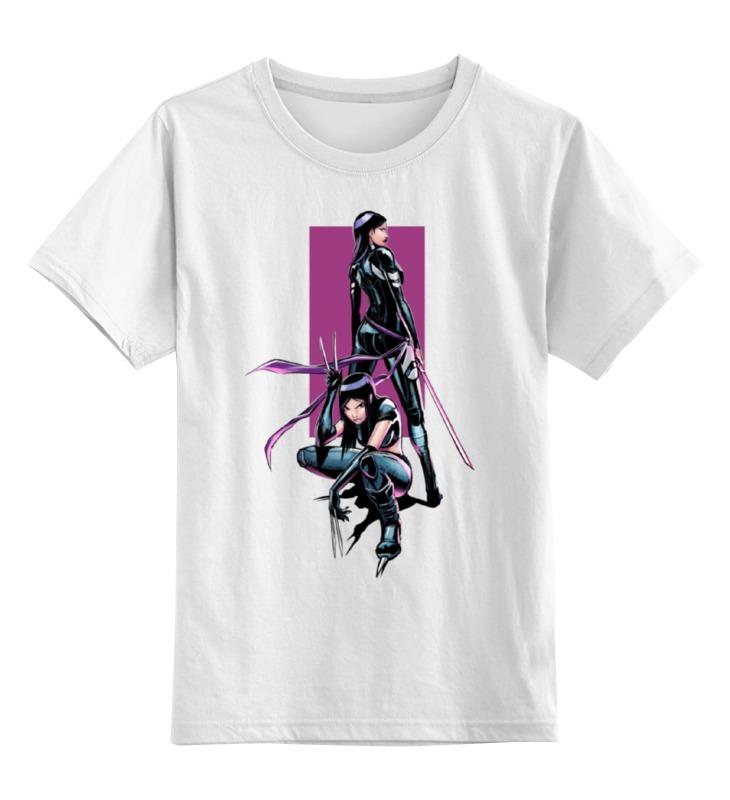Детская футболка классическая унисекс Printio Люди икс / x-men / х-23 футболка для беременных printio люди икс x men х 23