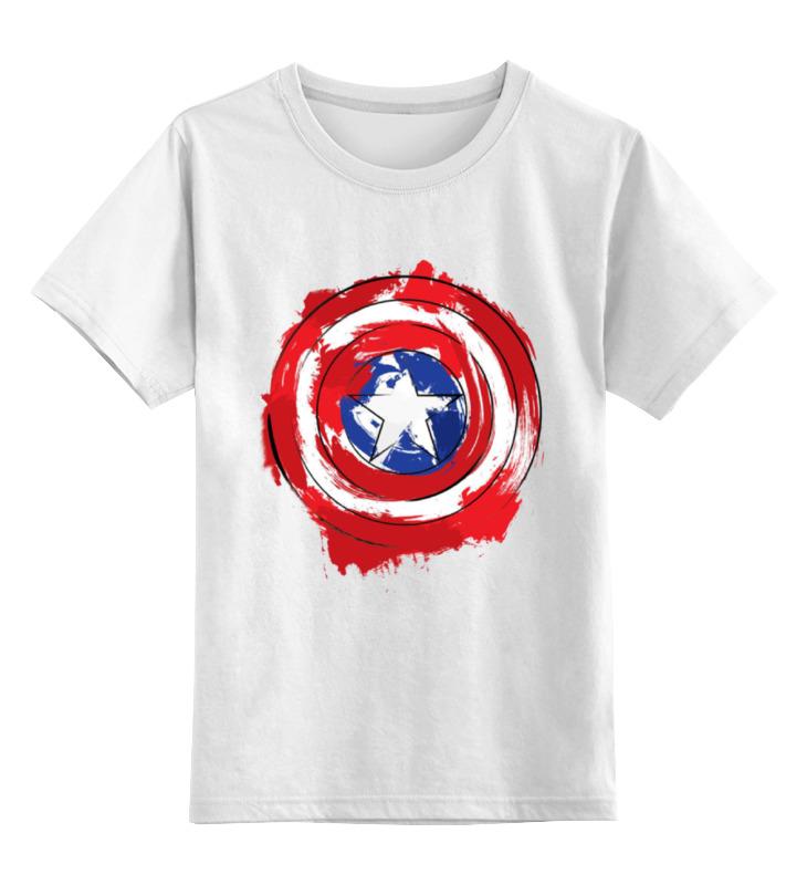 Детская футболка классическая унисекс Printio Captain america детская футболка классическая унисекс printio демон