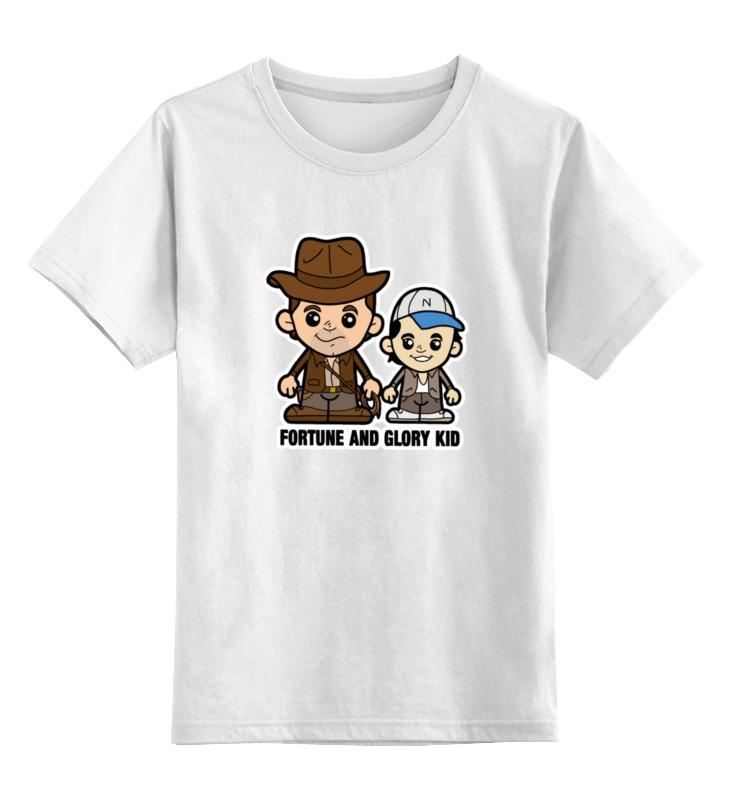 Детская футболка классическая унисекс Printio Индиана джонс цена 2017