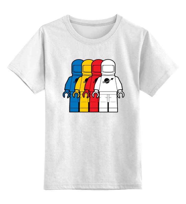 Детская футболка классическая унисекс Printio Космонавт лего детская футболка классическая унисекс printio лего lego
