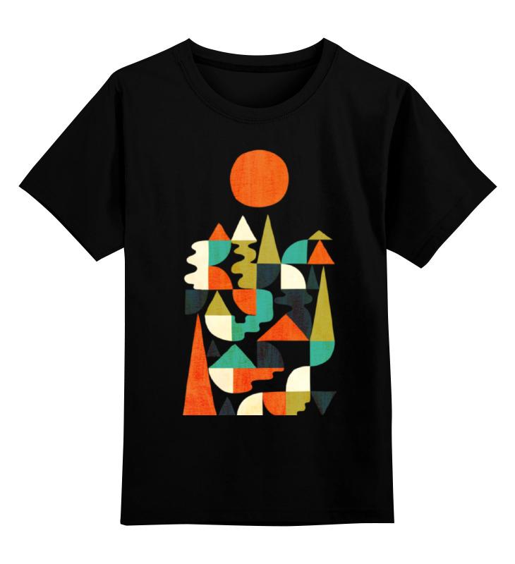 Детская футболка классическая унисекс Printio Геометрический пейзаж детская футболка классическая унисекс printio мачете