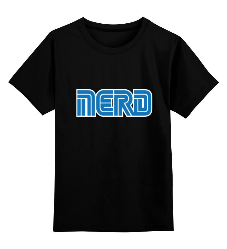 Детская футболка классическая унисекс Printio Nerd (sega) sega