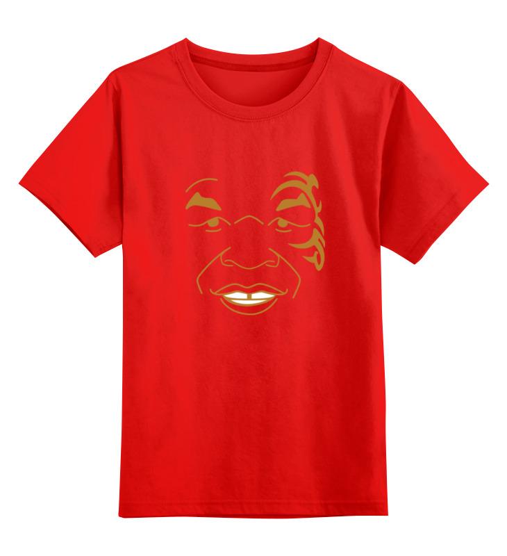 Детская футболка классическая унисекс Printio Майк тайсон (mike tyson)
