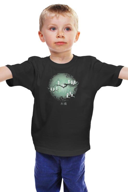 Детская футболка классическая унисекс Printio Духи леса духи