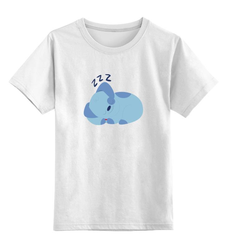 Детская футболка классическая унисекс Printio Спящая собака футболка классическая printio спящая красавица