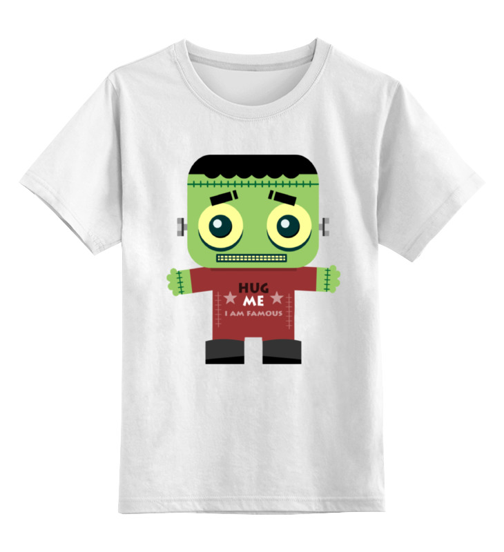 Детская футболка классическая унисекс Printio Виктор франкенштейн