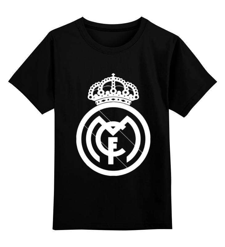 Детская футболка классическая унисекс Printio Real madrid реал мадрид