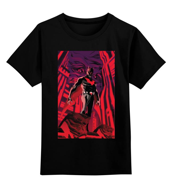 Детская футболка классическая унисекс Printio Batman beyond / бэтмен будущего лонгслив printio batman beyond бэтмен будущего