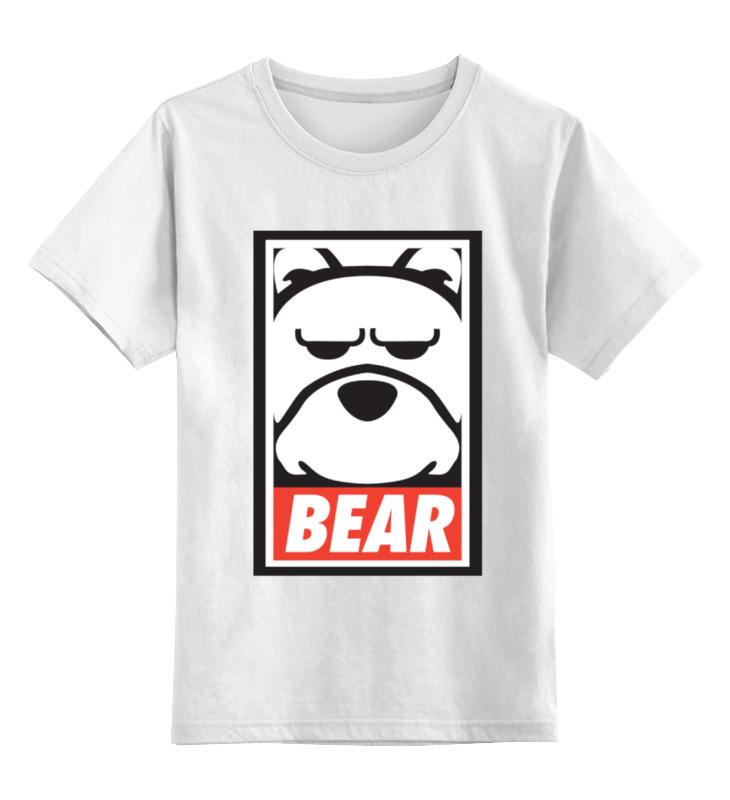Printio Мишка (bear, obey) майка классическая printio мишка bear obey