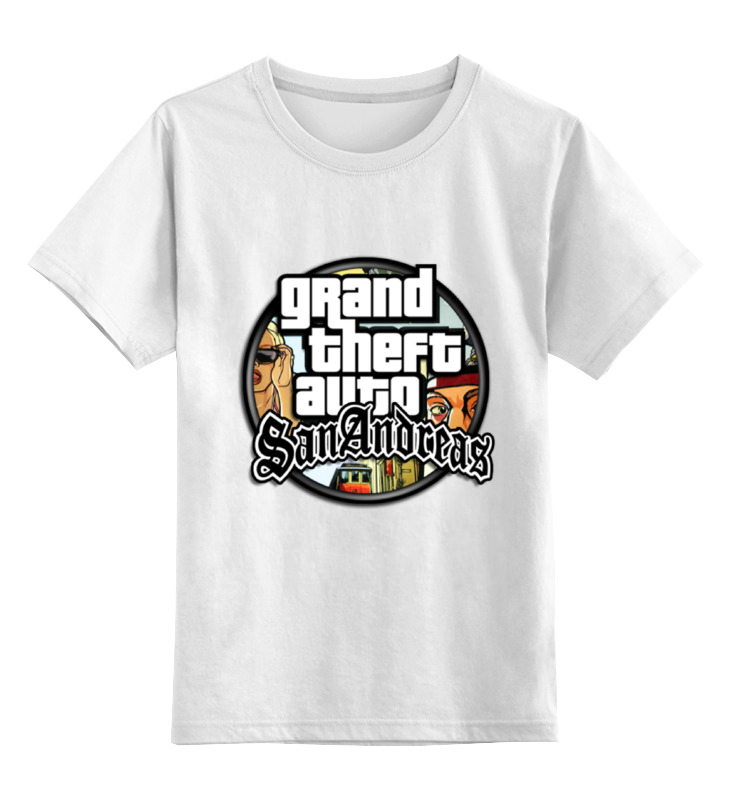 Детская футболка классическая унисекс Printio San andreas футболка классическая printio san andreas