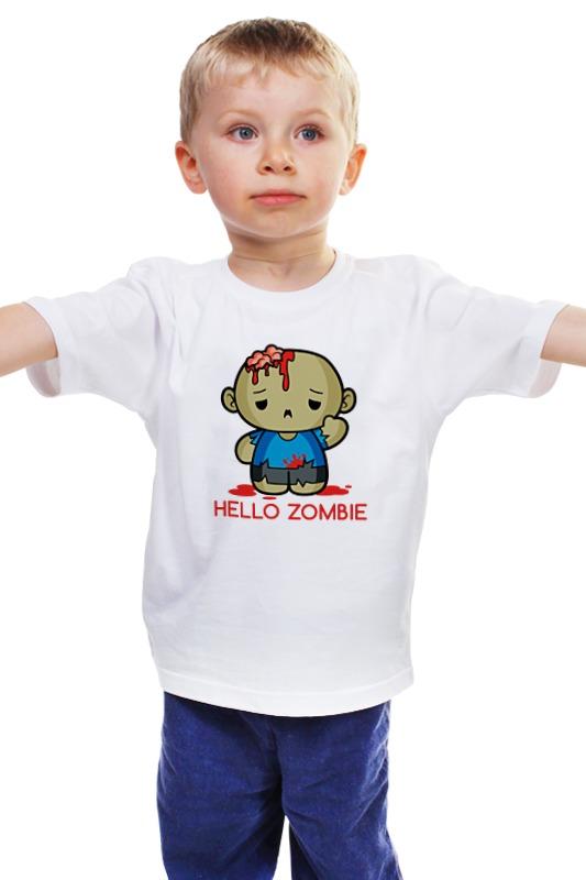 Детская футболка классическая унисекс Printio Зомби детская футболка классическая унисекс printio мачете