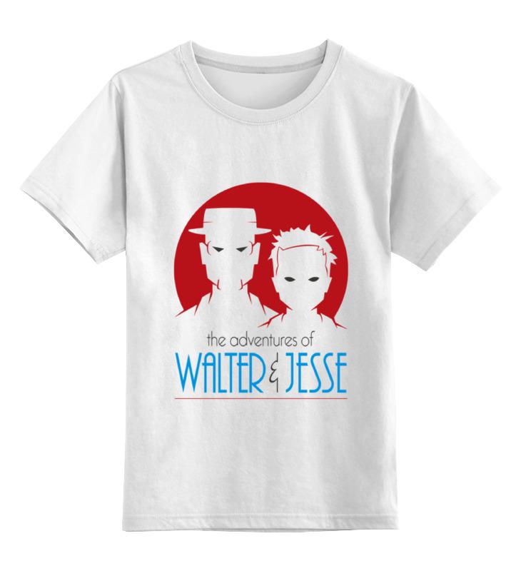 Детская футболка классическая унисекс Printio Walter & jesse футболка стрэйч printio walter