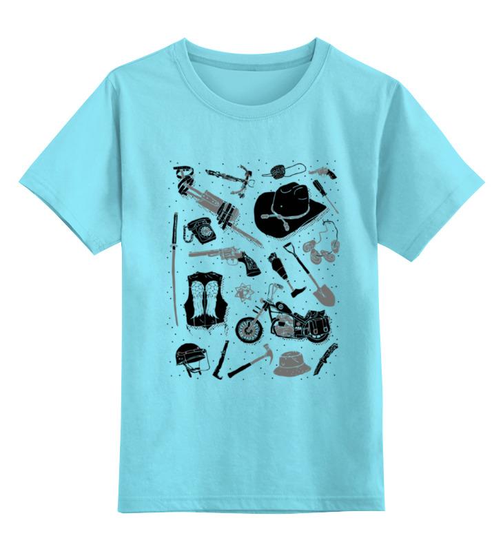 Детская футболка классическая унисекс Printio Артефакты из the walking dead худи print bar the walking dead