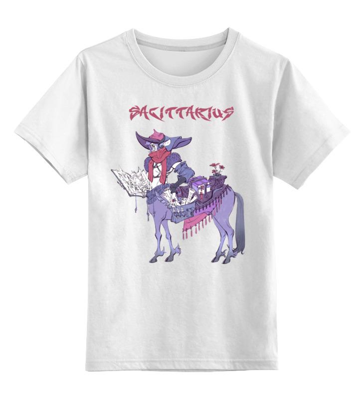 d21107e3ba3 Детская футболка классическая унисекс Printio Знак зодиака стрелец