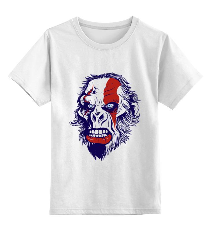Детская футболка классическая унисекс Printio Gorilla kratos 3 sprouts коробка для хранения горилла black gorilla 27250