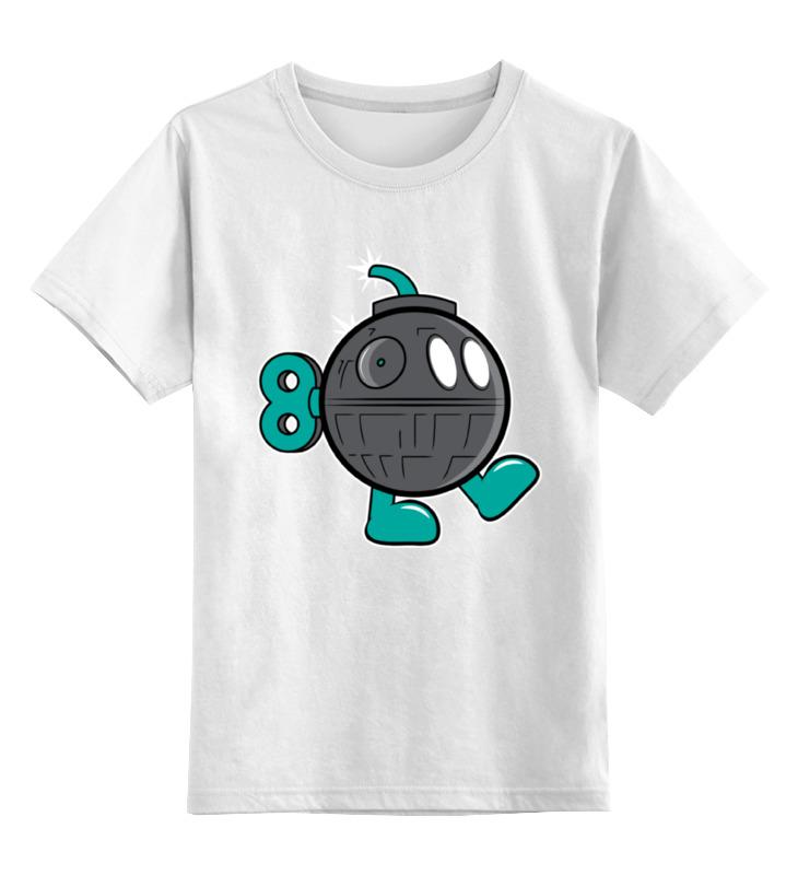 Детская футболка классическая унисекс Printio Бомба (звезда смерти) футболка wearcraft premium printio бомба звезда смерти